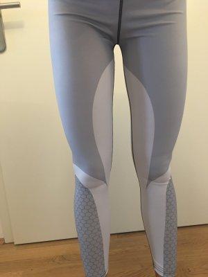 Stylische, figurbetonte Fitness Patchwork Leggings