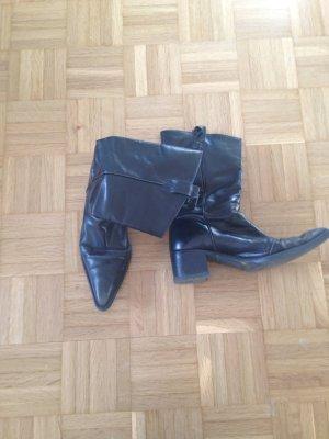 Stylische Fornarina Stiefel, Lieblingsteil, spitz, schwarz, Größe 39