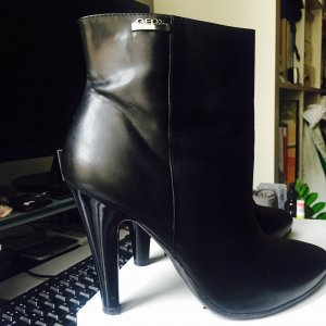 Geox Ankle Boots black leather