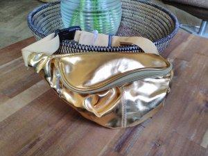 Stylische goldene Gürteltasche * Bauchtasche* Hipbag