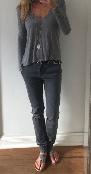 stylische graue Hose von BLEIFREI * Gr. 28 36-38
