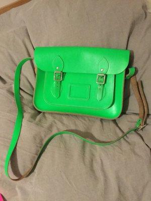 Borsa a spalla verde neon-verde