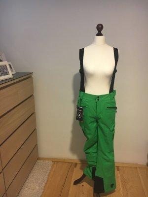 Stylische grüne Skihose nur 1x getragen zu verkaufen!