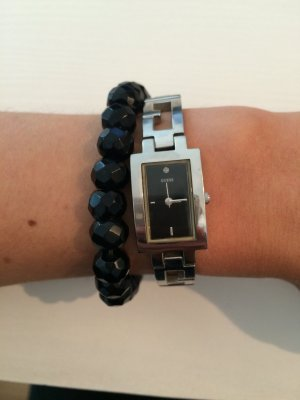 Stylische Guess Uhr Silber