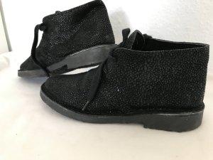 Stylische Halbschuhe/Boots mit Glitzer