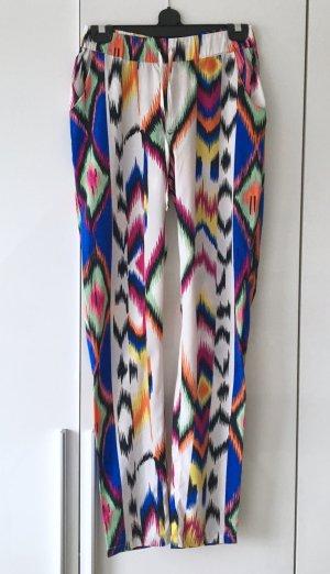 Stylische Hose bunt gemustert von Vero Moda Gr. XS