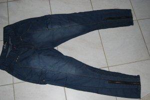 stylische Hose von Ofelia - rauchblau in Größe 36
