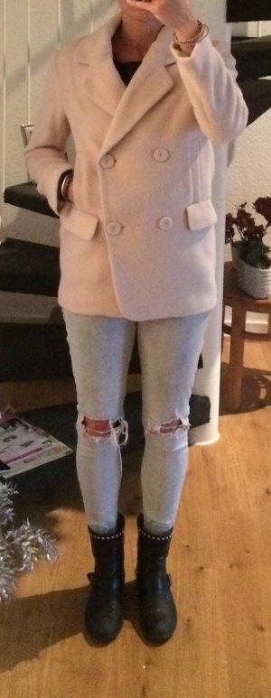 Stylische Jacke von H&M - Rosé/ wool Blend