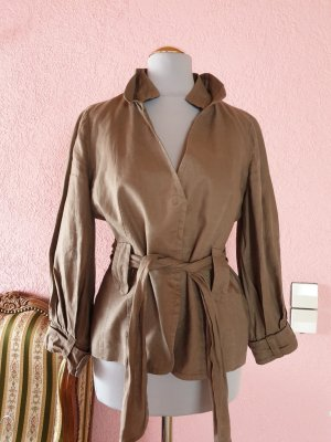 Sweat Blazer bronze-colored
