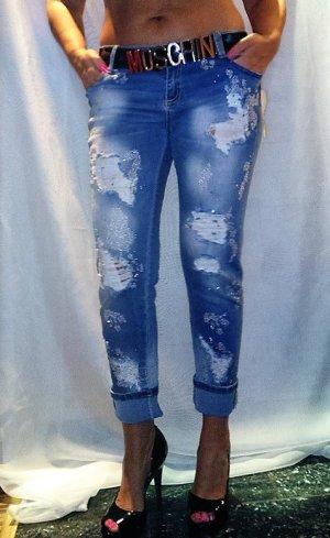 Stylische Jeans Hose 3/4 gr 31 Neu mit Etikett