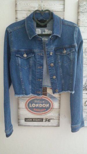 Orsay Denim Jacket steel blue-cornflower blue