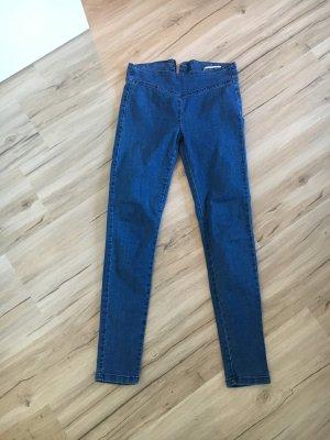 Noisy May Jeans taille haute bleu