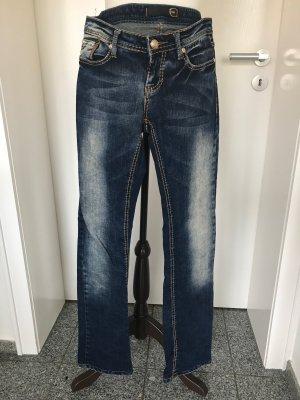 Just cavalli Boot Cut Jeans dark blue cotton