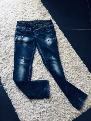 Salsa Jeans Low Rise jeans donkerblauw