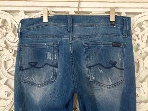 stylische Jeans von Seven 7 for all mankind * straight leg * Gr. 27 / 32