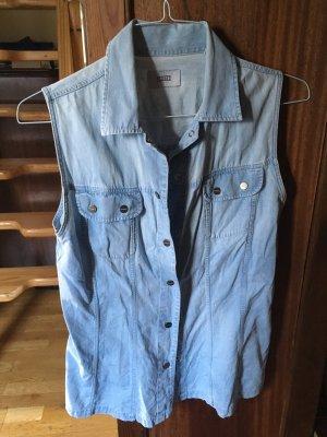 Stylische Jeansweste von Closed helle Weste aus Jeans