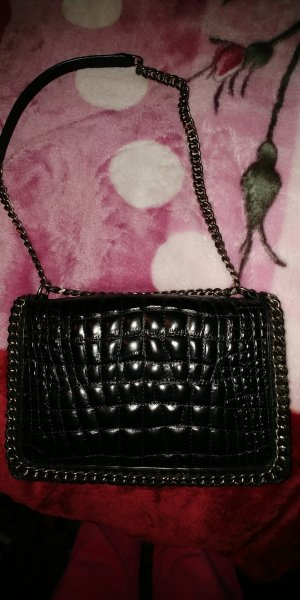 Stylische Lederhandtasche von Zara