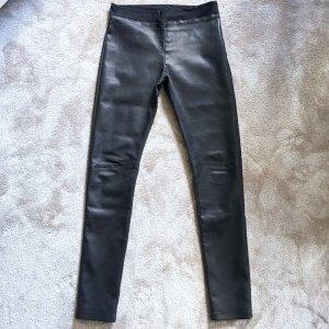 Stylische Lederhose Skinny