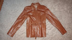 Leather Jacket multicolored leather
