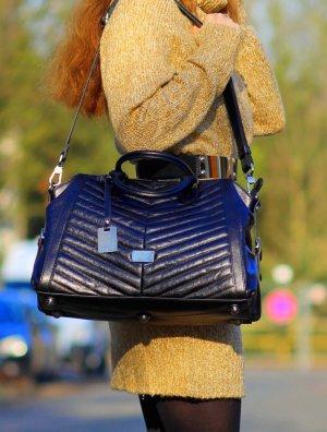 Stylische Ledertasche Handtasche Echt Leder schwarz von Picard