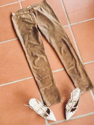 Stylische Leggings in wildlederiptik