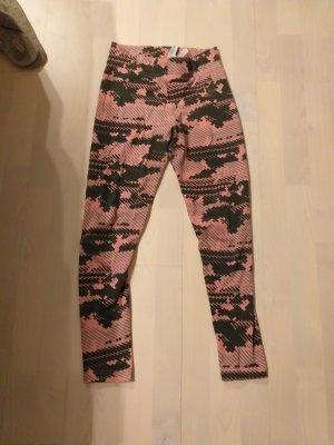 Adidas Leggings negro-rojo claro