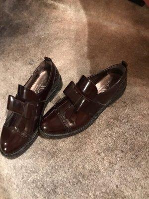 AGL Slip-on Shoes bordeaux
