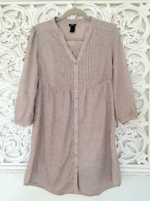 stylische Long-Bluse von H&M * naturfarben * Gr. 38 M