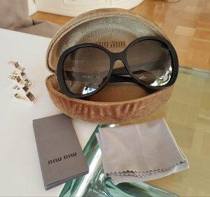 Miu Miu Round Sunglasses multicolored