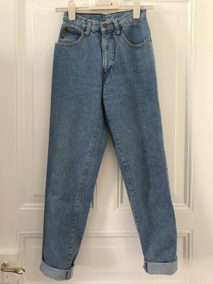 Armani Jeans High Waist Jeans cornflower blue
