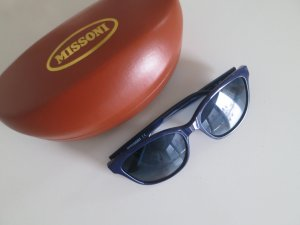 Stylische Petrolblaue Sonnenbrille von Missoni