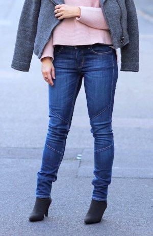 Stylische Röhrenjeans dunkelblau von Wunderwerk Fashion W27 L32