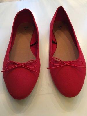 Stylische Rote Ballerinas