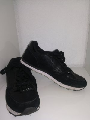Blue Motion Sneakers black