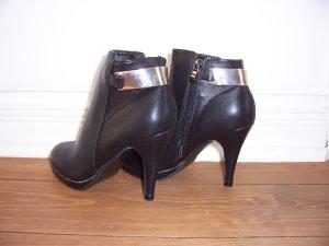 stylische schwarze Stiefeletten von SIXTH SENS * Gr. 38