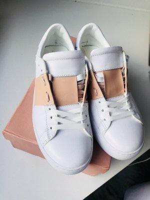 Stylische Sneackers aus echtem Leder