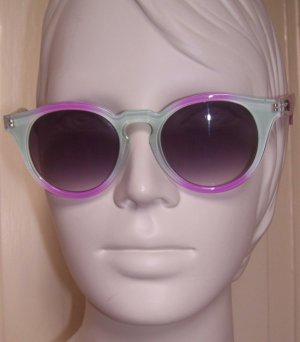 Stylische Sonnenbrille von QUAY Australia türkis/lila
