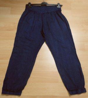 stylische Stoffhose in Jeansoptik