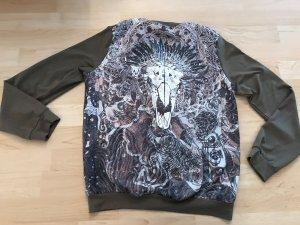 Stylische Sweatshirt Jacke