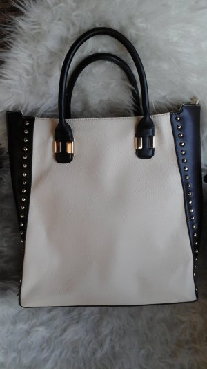 Stylische Tasche black/white TREND