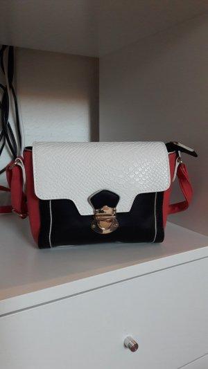 Stylische Tasche Kunstleder neu