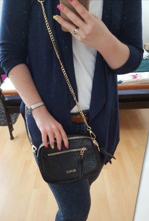 Soccx Crossbody bag black-gold-colored