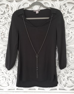 Anna Field Tunic Blouse anthracite viscose
