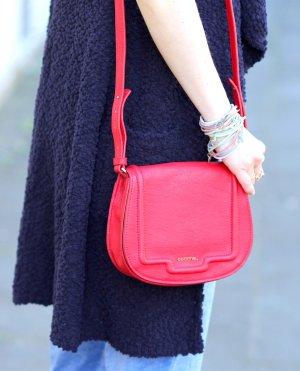 Stylische Umhängetasche Handtasche rot von Comma Neu