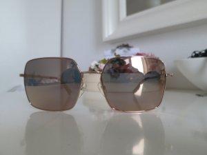 stylische verspiegelte Sonnenbrille von MaxMara (rosé-gold)