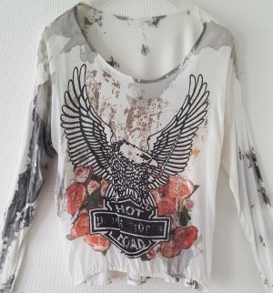 Stylische Vintage Bluse * Onesize
