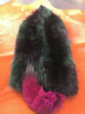 100% Fashion Woolen Scarf multicolored