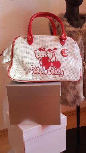 stylische weiß/ pinke Comic- Hello Kitty Bowling Tasche