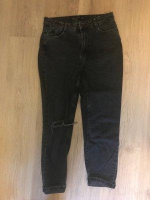Stylische weite jeanshose