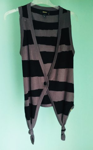 Insight Long Knitted Vest multicolored